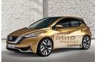 Nissan Tiida, Seitenansicht