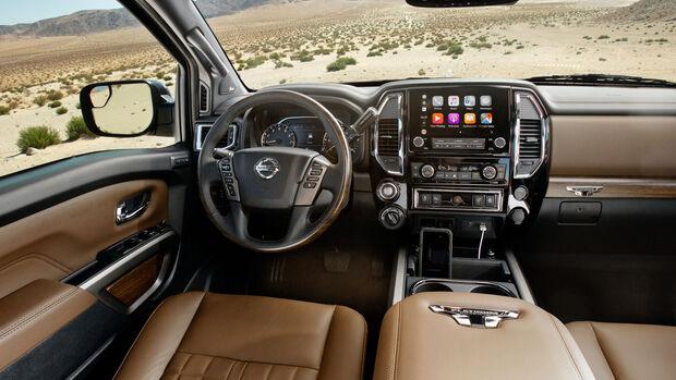 Nissan Titan Pickup Facelift 2020