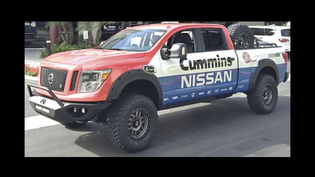 Nissan Titan XD Truck Sema