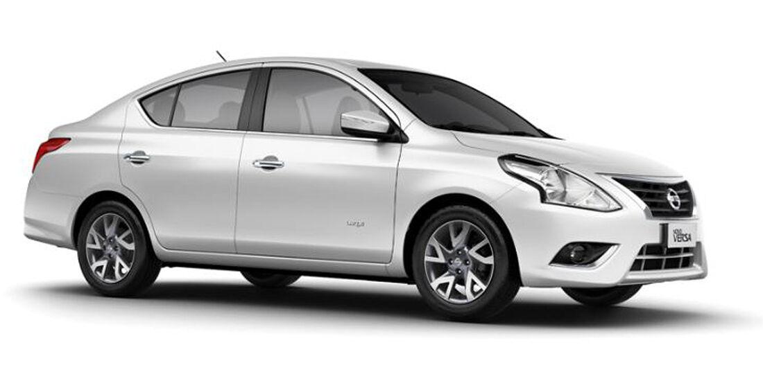 Nissan Versa 2015 Brasilien