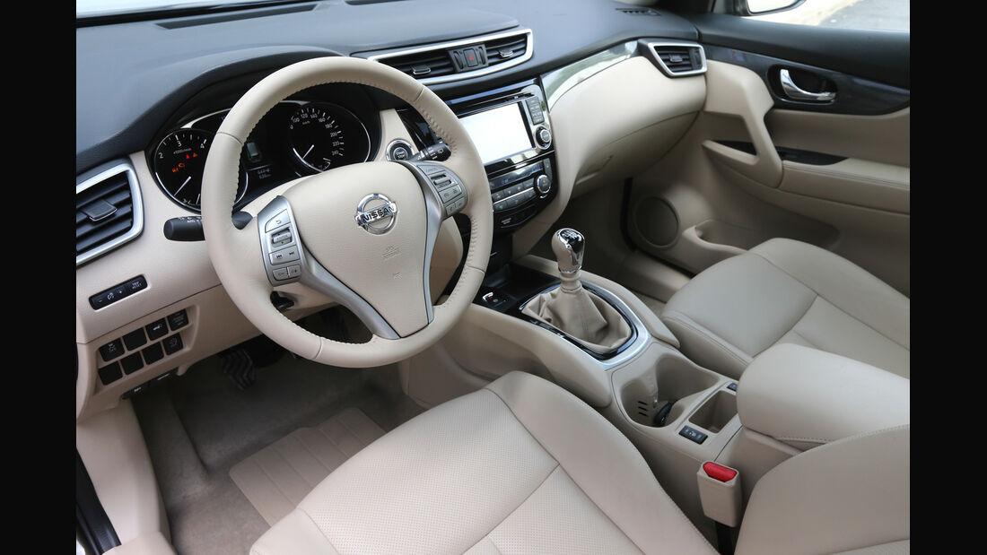 Nissan X-Trail 1.6 dCi 2WD, Cockpit, Interieur
