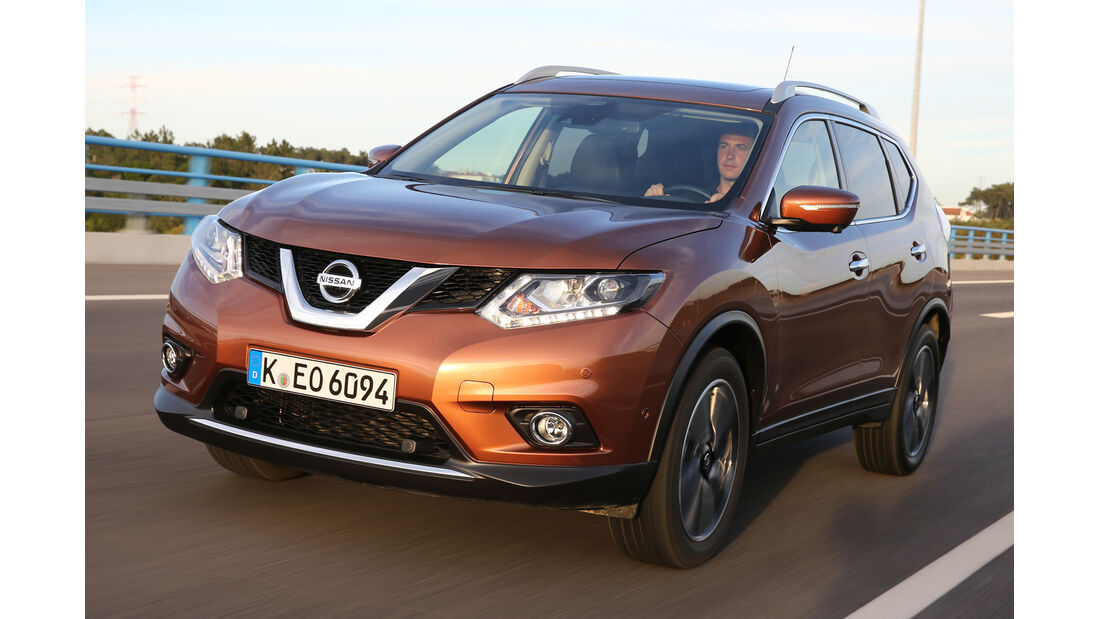 Nissan X-Trail 1.6 dCi 2WD, Frontansicht