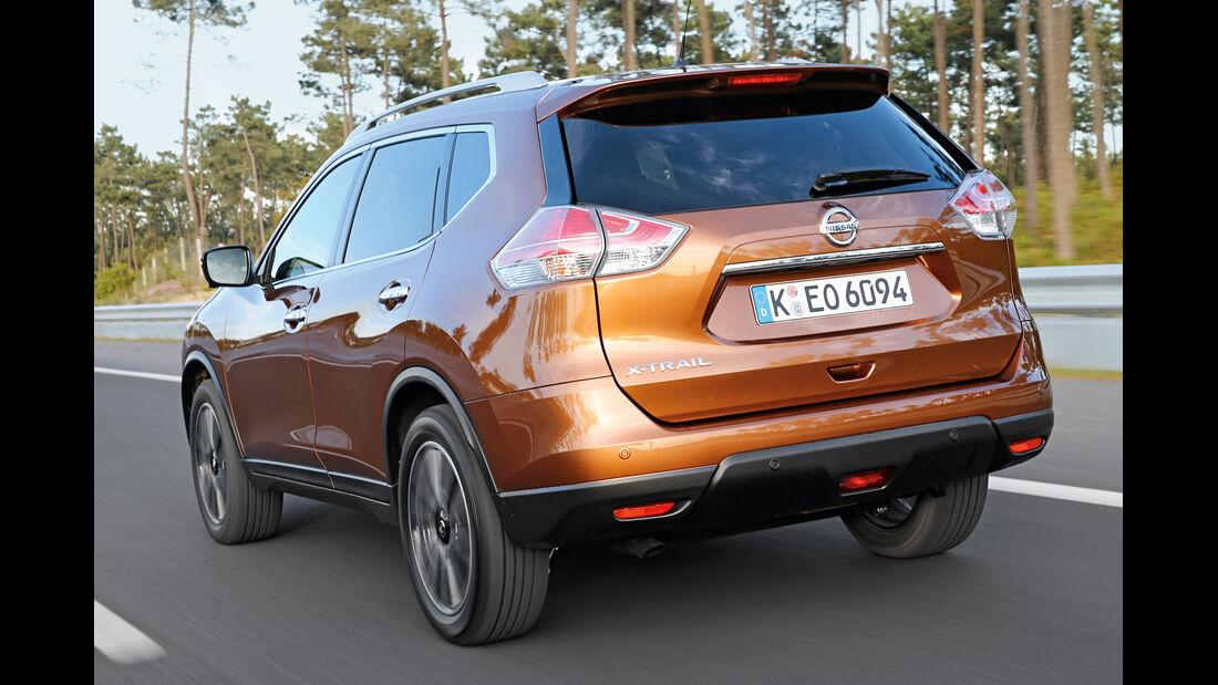 Nissan X-Trail 1.6 dCi 2WD, Heckansicht