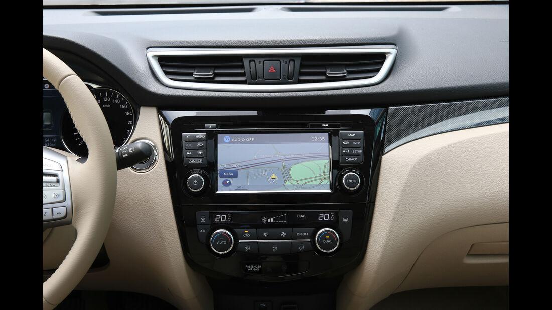 Nissan X-Trail 1.6 dCi 2WD, Monitor, Bildschirm