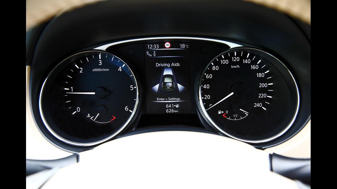 Nissan X-Trail 1.6 dCi 2WD, Rundinstrumente