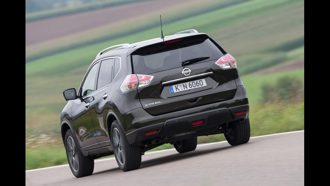 Nissan X-Trail 1.6 dCi 4x4, Heckansicht