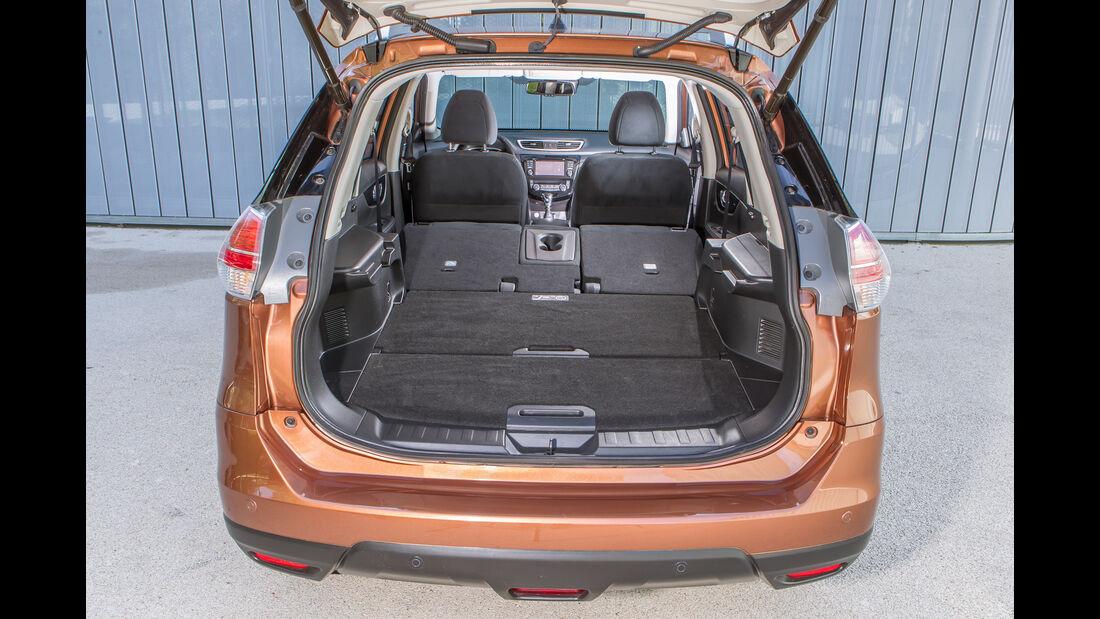 Nissan X-Trail 1.6 dCi 4x4, Kofferraum