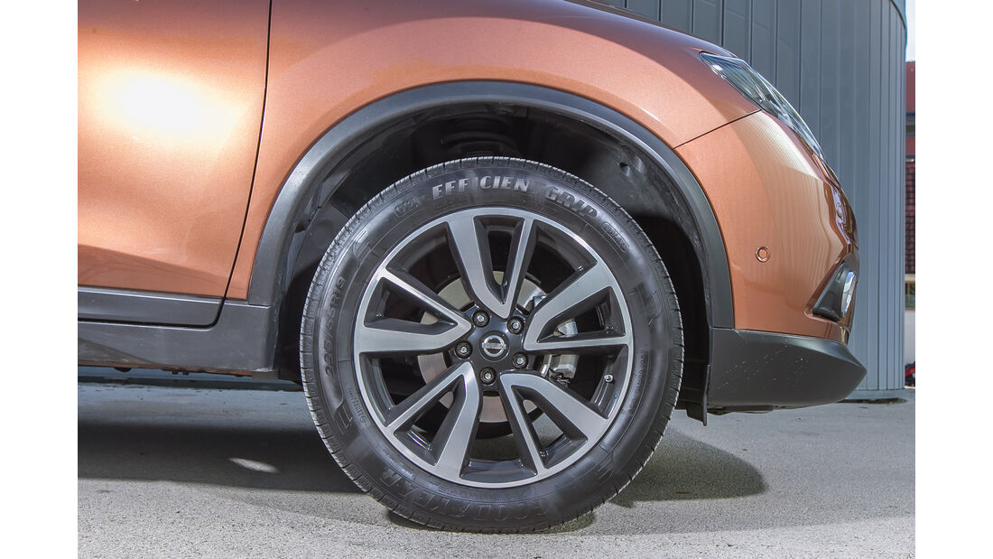 Nissan X-Trail 1.6 dCi 4x4, Rad, Felge
