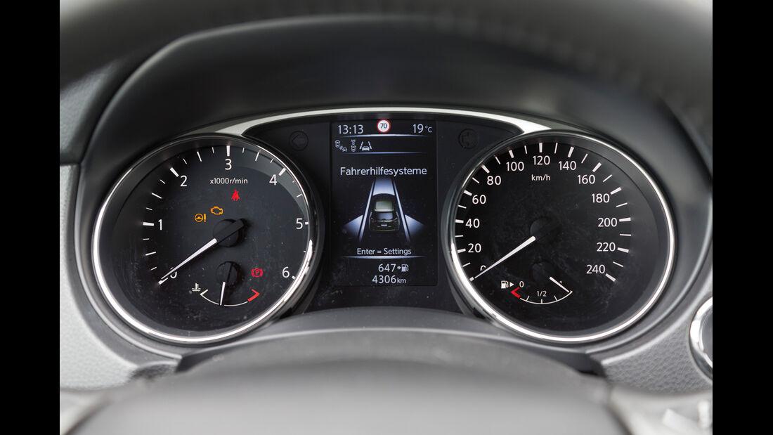 Nissan X-Trail 1.6 dCi 4x4, Rundinstrumente
