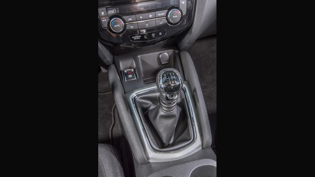 Nissan X-Trail 1.6 dCi 4x4, Schalthebel