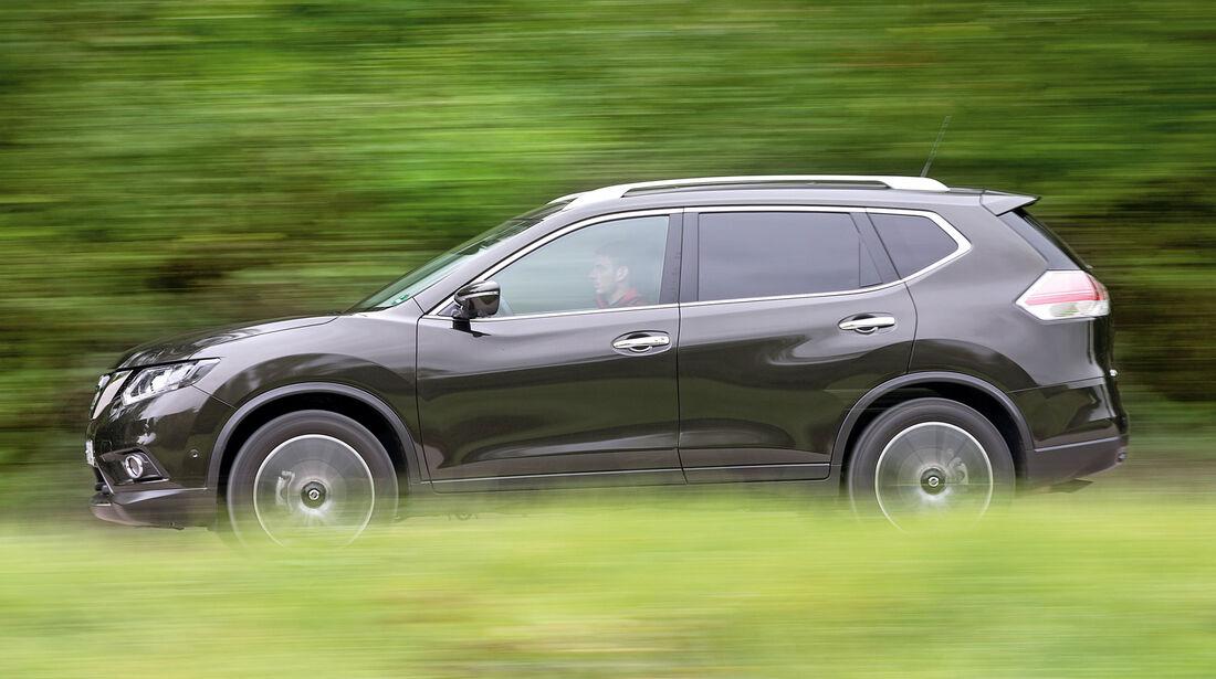 Nissan X-Trail 1.6 dCi 4x4, Seitenansicht