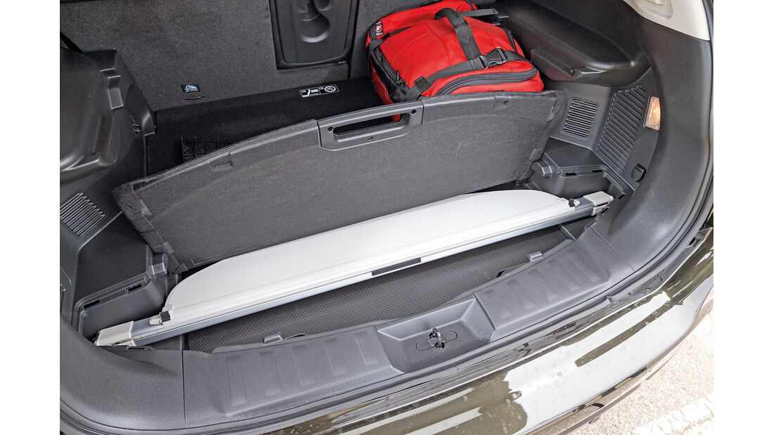 Nissan X-Trail 1.6 dCi 4x4, Stauraum