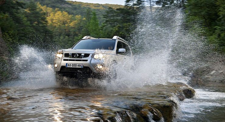 Nissan X-Trail Facelift 2011