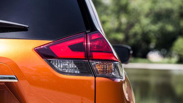 Nissan X-Trail Facelift 2017