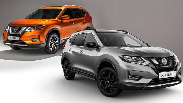 Nissan X-Trail Facelift 2021 mit Vorgänger