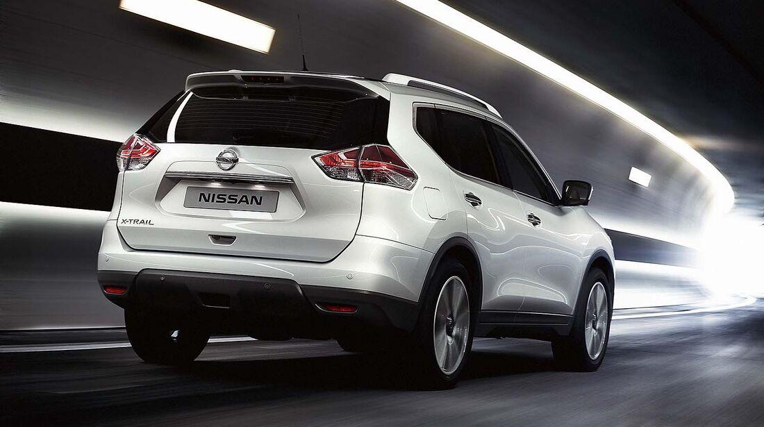 Nissan X-Trail II Weltpremiere IAA 2013