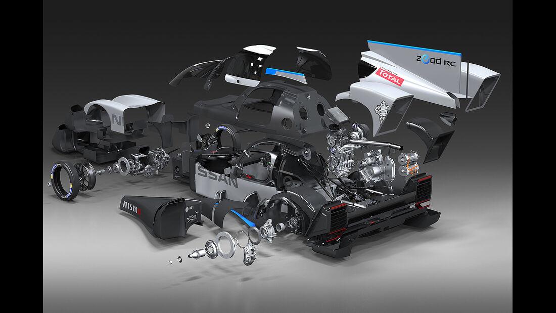 Nissan Zeod - 24h-Rennen - Le Mans 2014