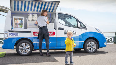 Nissan e-NV200 Ice Cream Prototyp