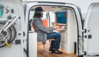 Nissan e-NV200 mobiles Büro