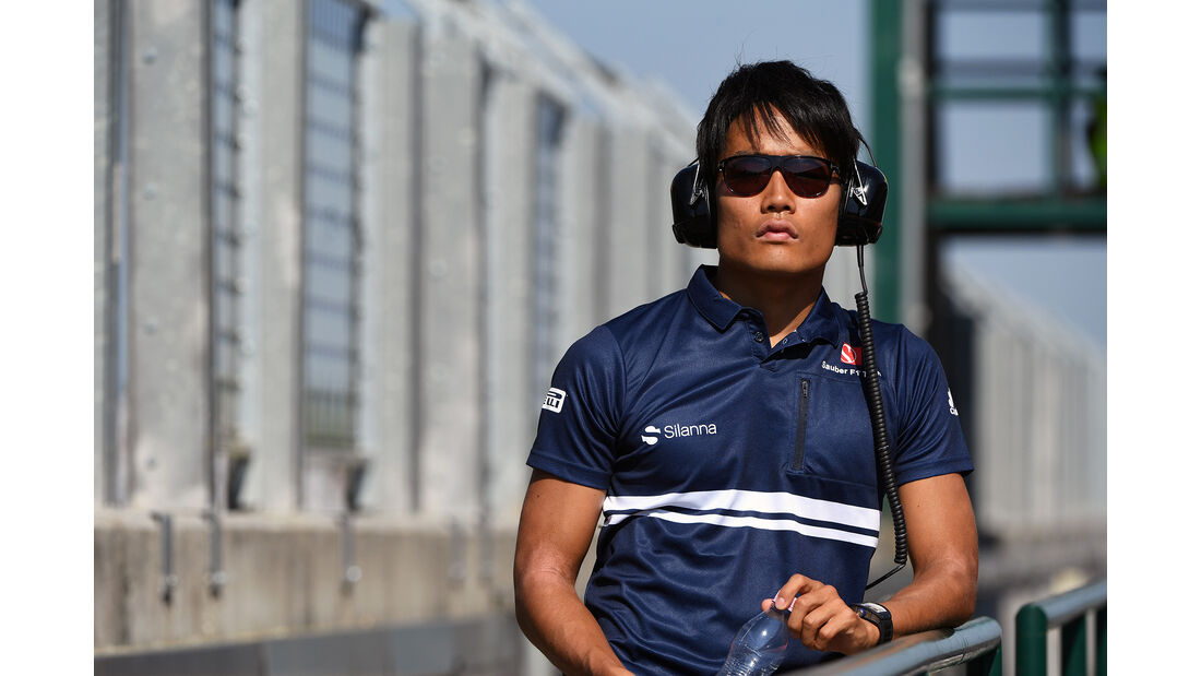 Nobuhiro Matsushita - Sauber - Formel 1 - Test - Ungarn - Budapest - 1. August 2017
