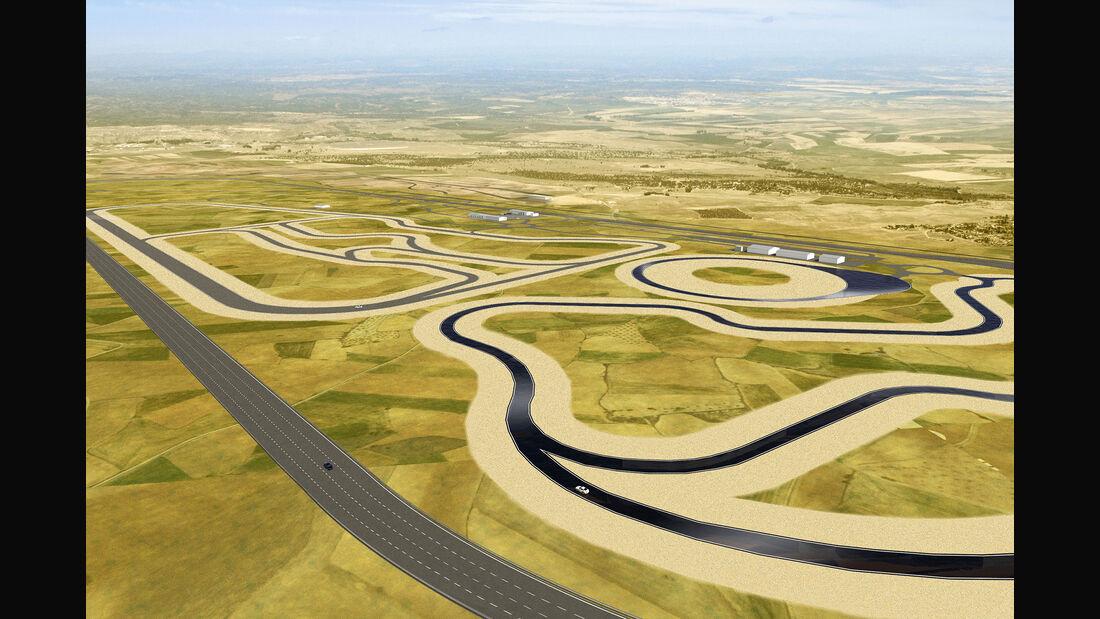 Nokian Reifentestzentrum Spanien