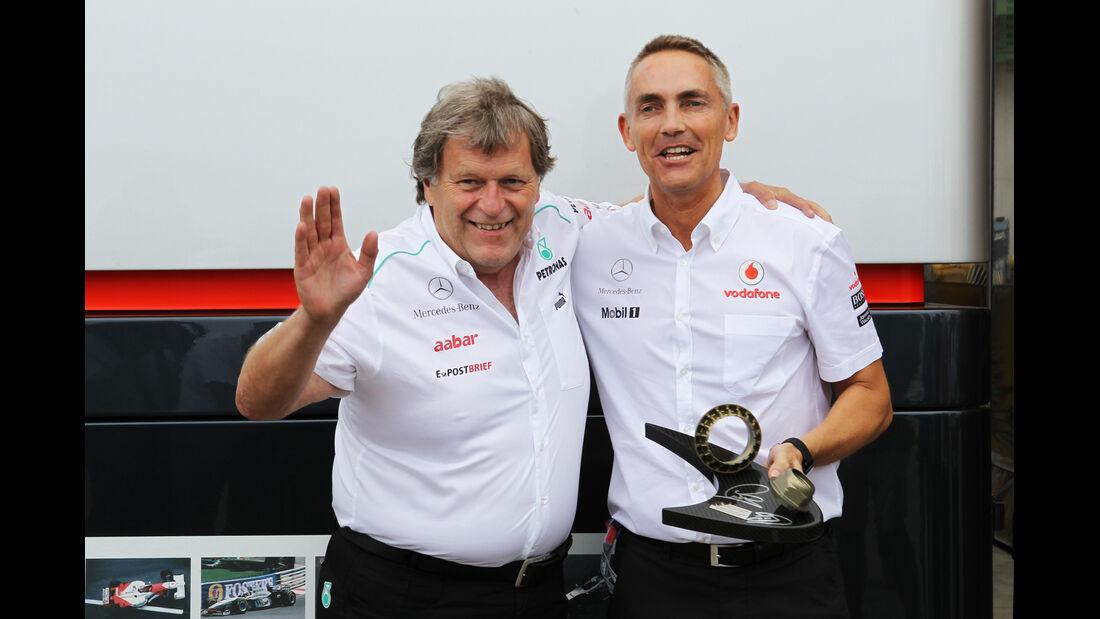 Norbert Haug & Martin Whitmarsh - GP Europa - Formel 1 - Valencia - 22. Juni 2012