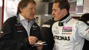 Norbert Haug & Michael Schumacher