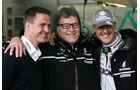 Norbert Haug mit den Schumachers