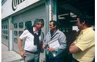 Norbert Singer - Paul Rosche - Hockenheim 1983 - Testfahrten - Formel 1