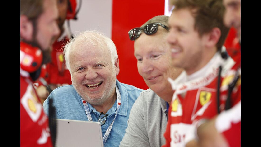Norbert Vettel - GP Bahrain - Formel 1 - 1. April 2016
