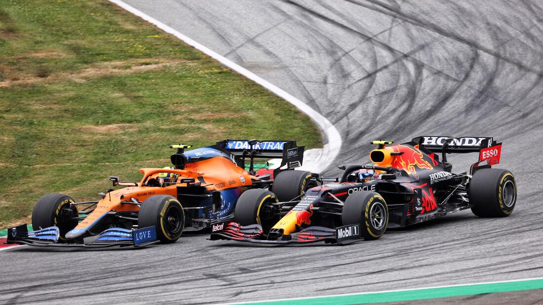 Norris - Perez - GP Österreich 2021 - Spielberg - Rennen