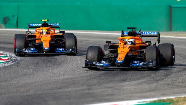 Norris & Ricciardo - McLaren - Formel 1 - Monza - GP Italien - 11. September 2021