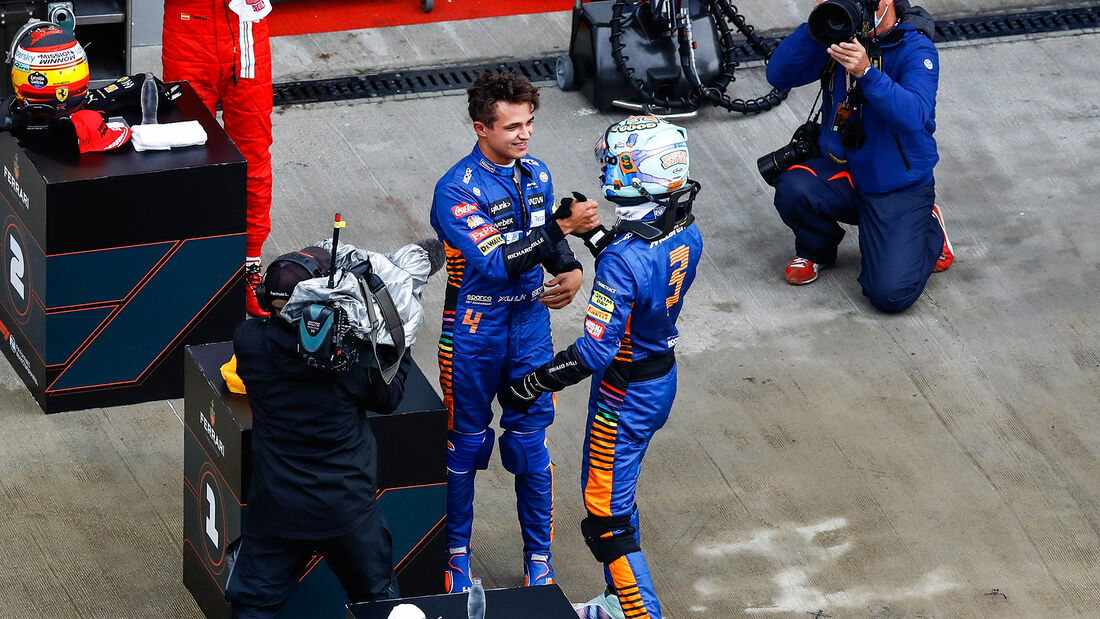 Norris - Ricciardo - McLaren - GP Russland 2021 - Sotschi - Samstag