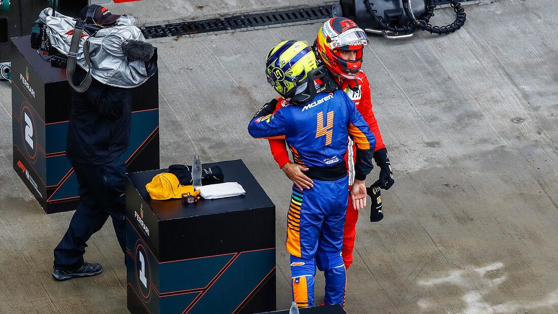 Norris - Sainz - GP Russland 2021 - Sotschi - Samstag