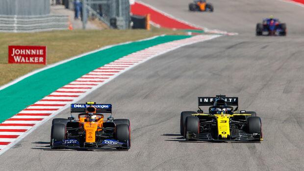 Norris vs. Ricciardo - GP USA 2019