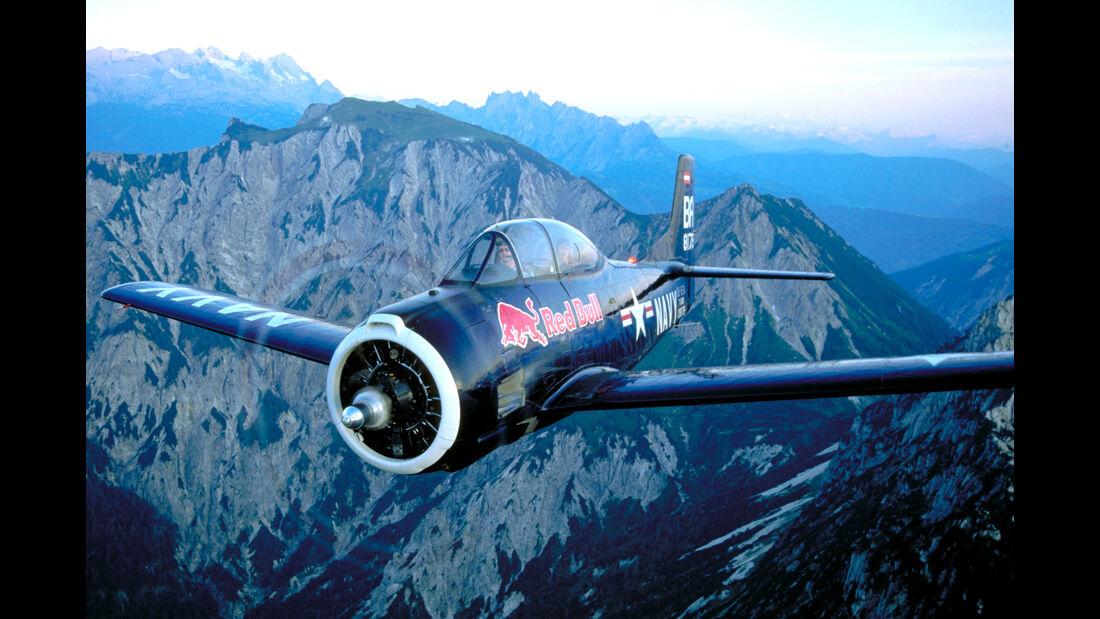 North American T-28 - Red Bull