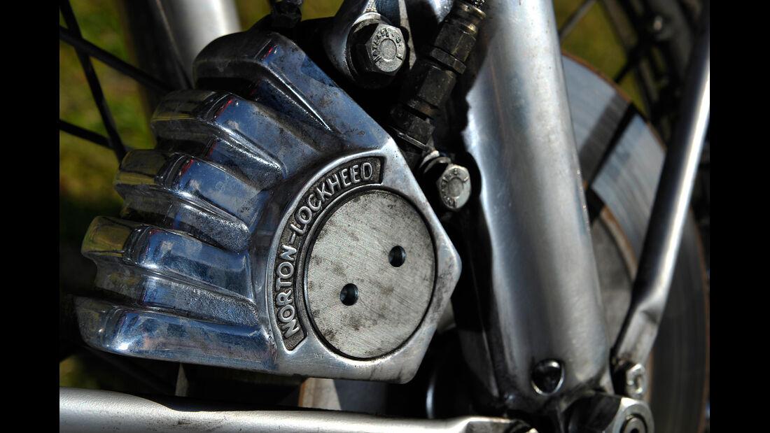 Norton 850 Commando, Getriebe, Detail