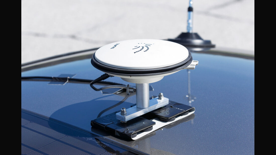 Notbremsassistenten, Differenzial-GPS