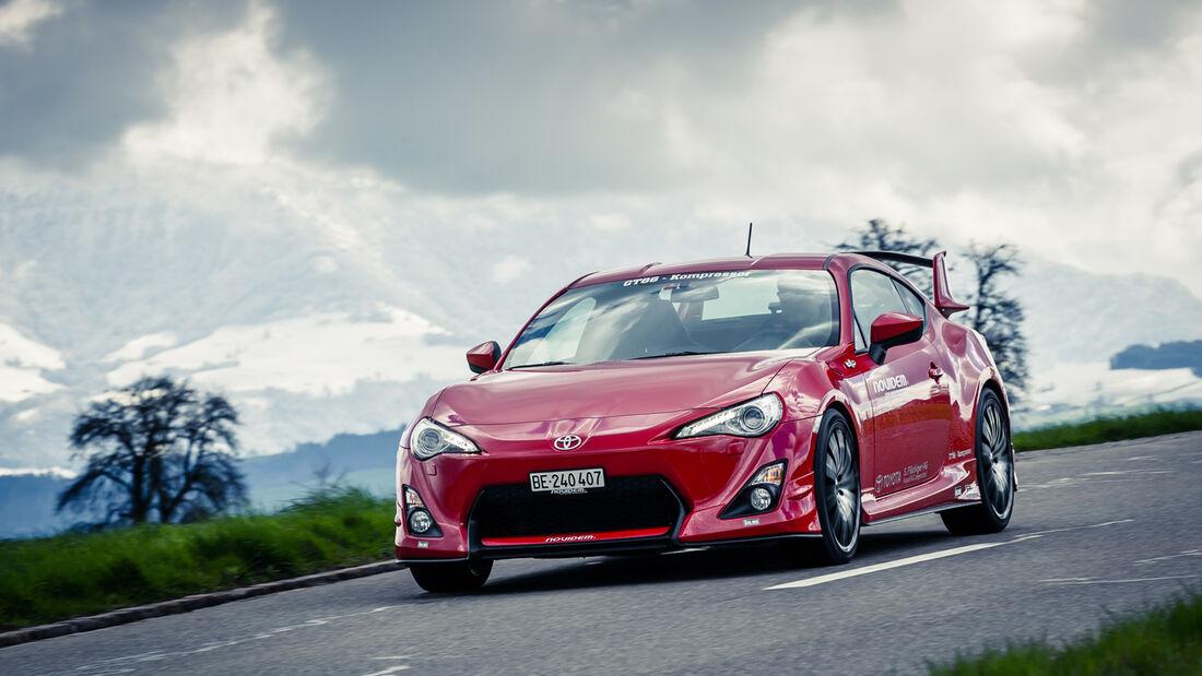 Novidem-Toyota GT86, Frontansicht