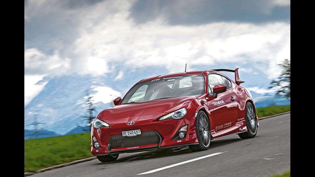 Novidem Toyota GT86, Frontansicht, Frontansicht, spa 05/2014