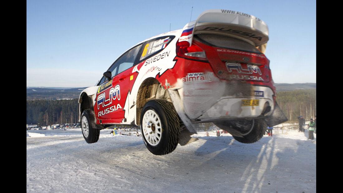 Novikov Rallye Schweden 2012 WRC