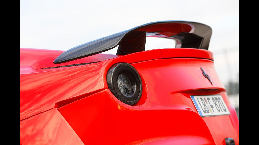 Novitec-Ferrari F12 N-Largo, Heckflügel, Spoiler