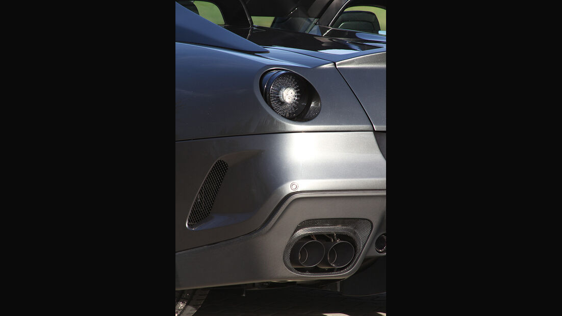 Novitec Ferrari SA Aperta, Heck, Rücklicht, Auspuff