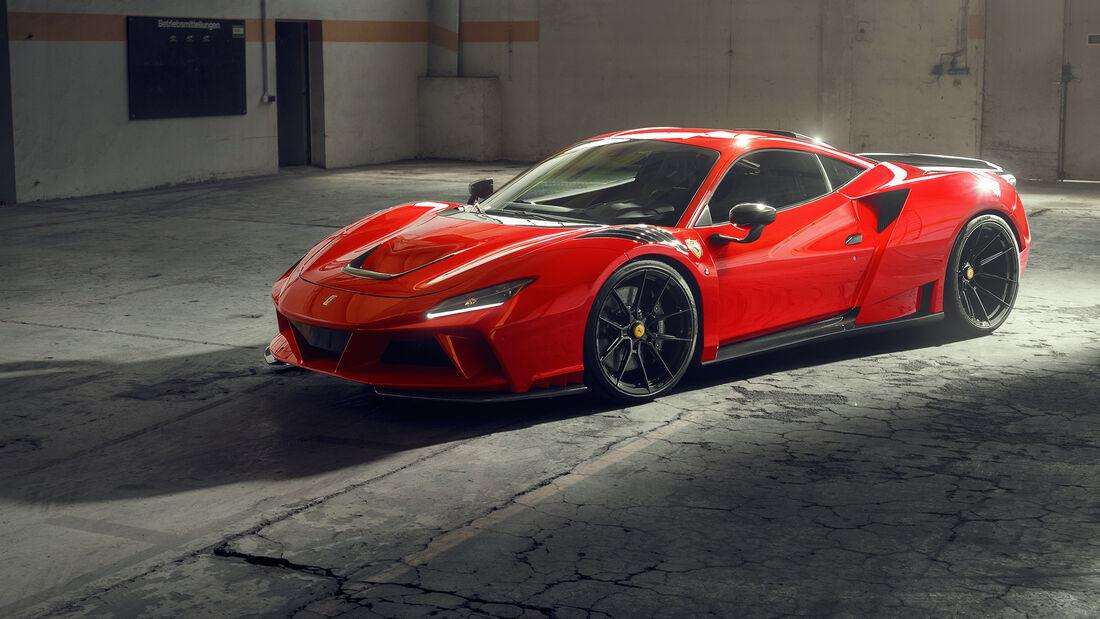 Novitec N-Largo Ferrari F8 Tributo Widebody