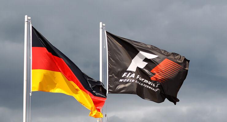 Nürburgring GP Deutschland Flagge
