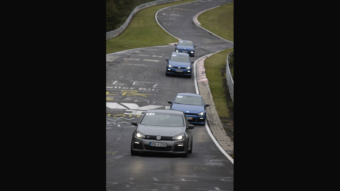 Nürburgring, Linientreue, VW R-Fahrzeug