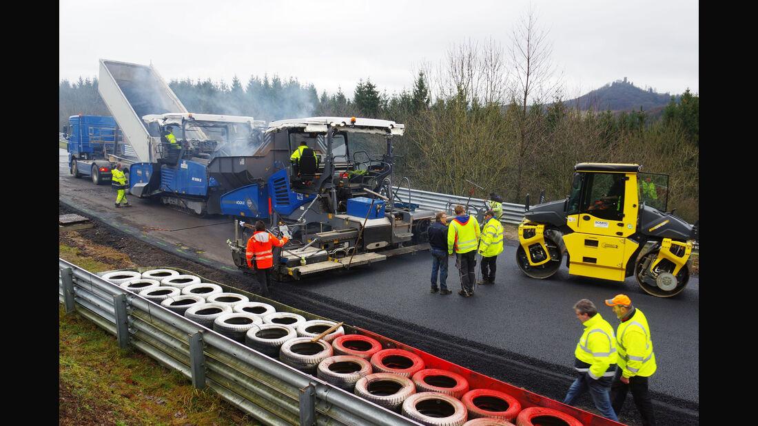Nürburgring - Nordschleife - Umbau - Quiddelbacher Höhe - Flugplatz