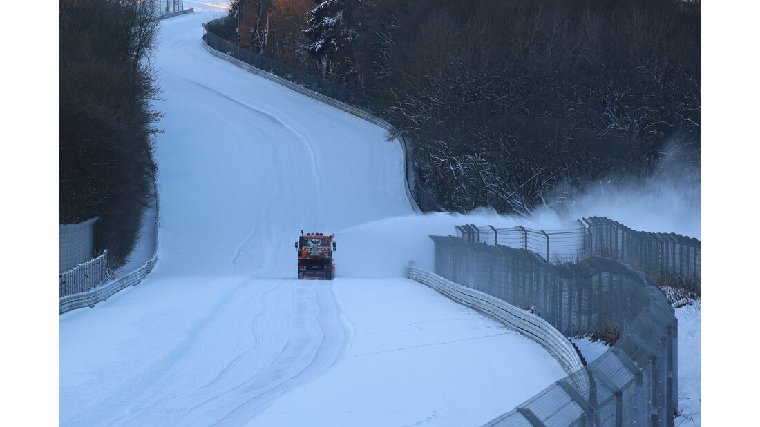 Nürburgring, Schneepflug
