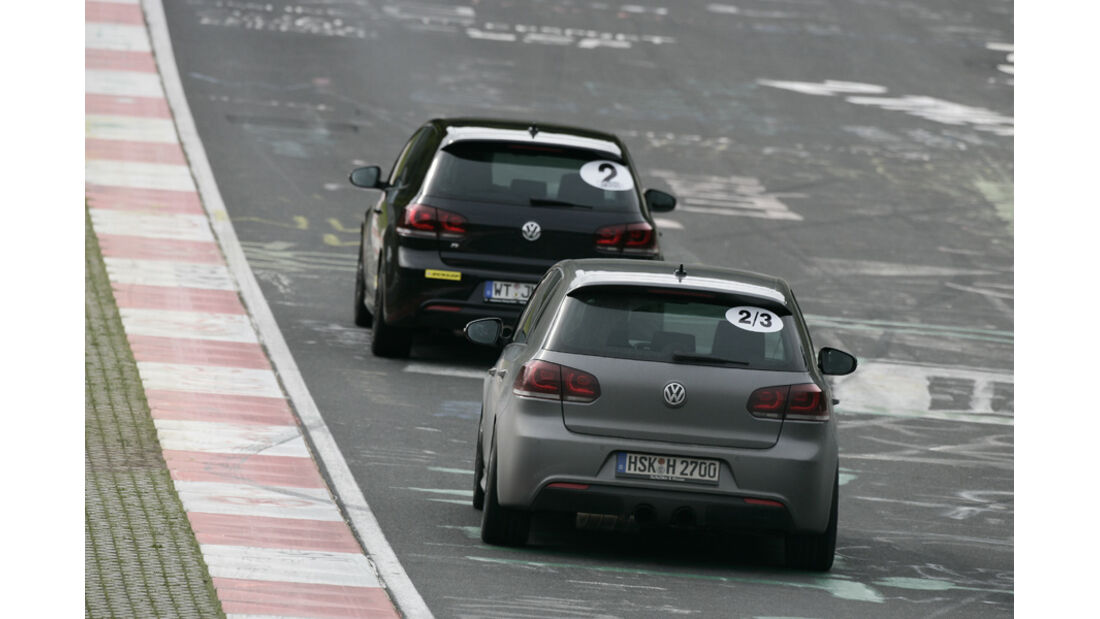 Nürburgring, VW Golf R,