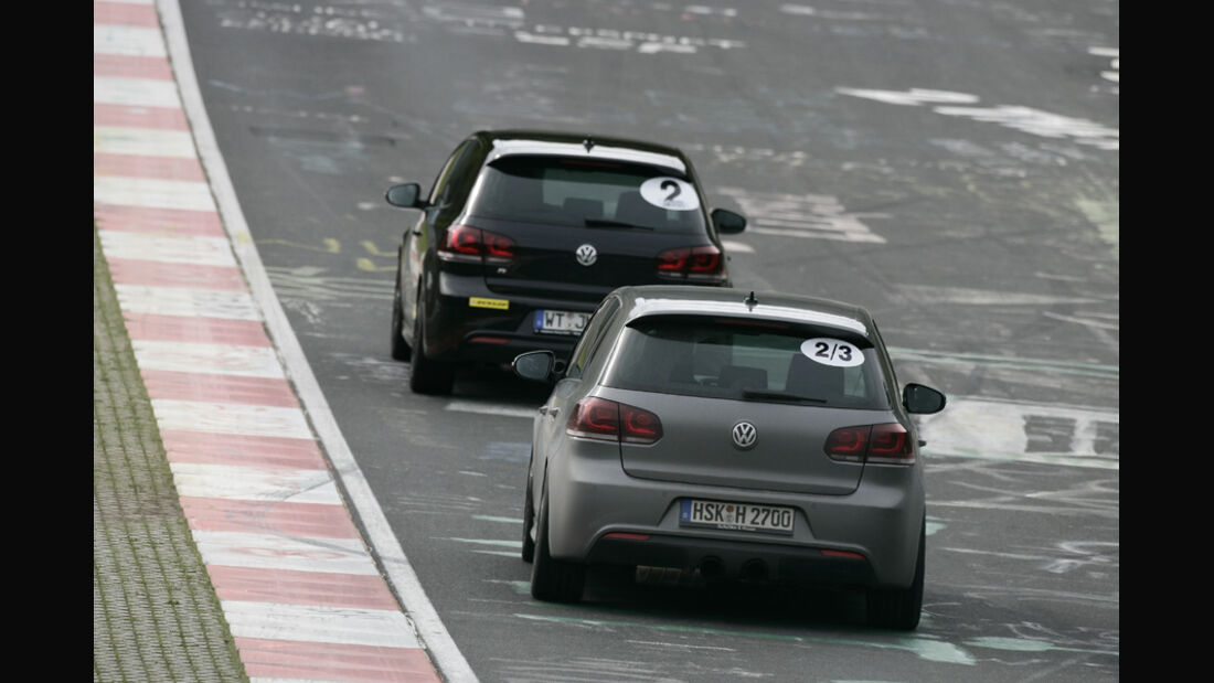 Nürburgring, VW Golf R,
